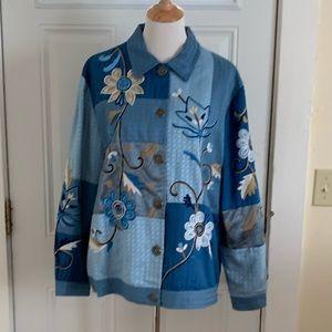 Size L Indigo Moon Vintage Jacket